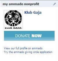 Ammado Donate Now Facebook Box