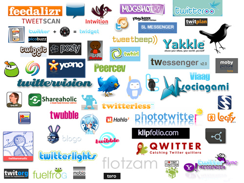 twitter app logo list1 Find work through Facebook and BraveNewTalent