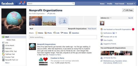 Five Ways to Grow Your Nonprofit's Facebook Fan Base