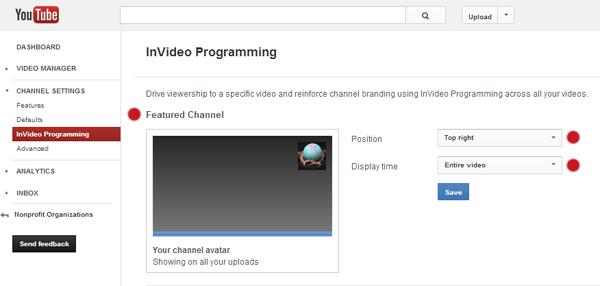 YouTube Settings 3