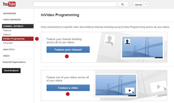 YouTube Settings